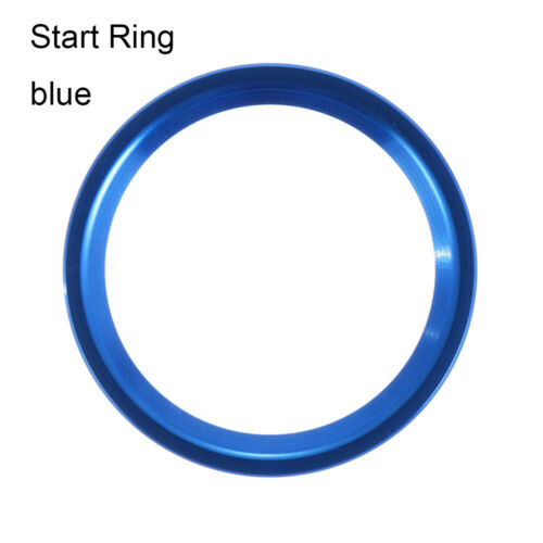 Metal ShineCar Start Stop Engine Switch Button Cover Ring Sticker Decal For Audi