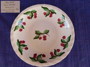 Blue-Ridge-Southern-Pottery-CHERRY-TREE-SOUP-BOWL-have-100s-more-BR-items