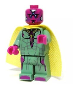 NEW  Vision Minifigure 76032  The Avengers Quinjet City Chase...EXCLUSIVE!!!