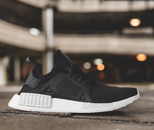 2acc53bc5 Image is loading ADIDAS-NMD-XR1-SHOES-BLACK-WHITE-BY9921-US-