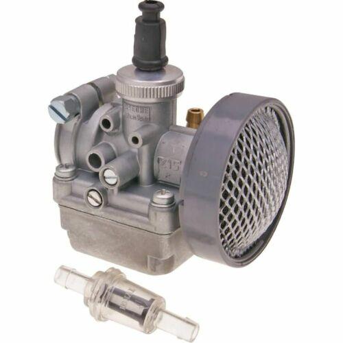Carburetor Vergaser Arreche 15mm mit Chokezug Vorbereitung für GAC Mobylette MBK