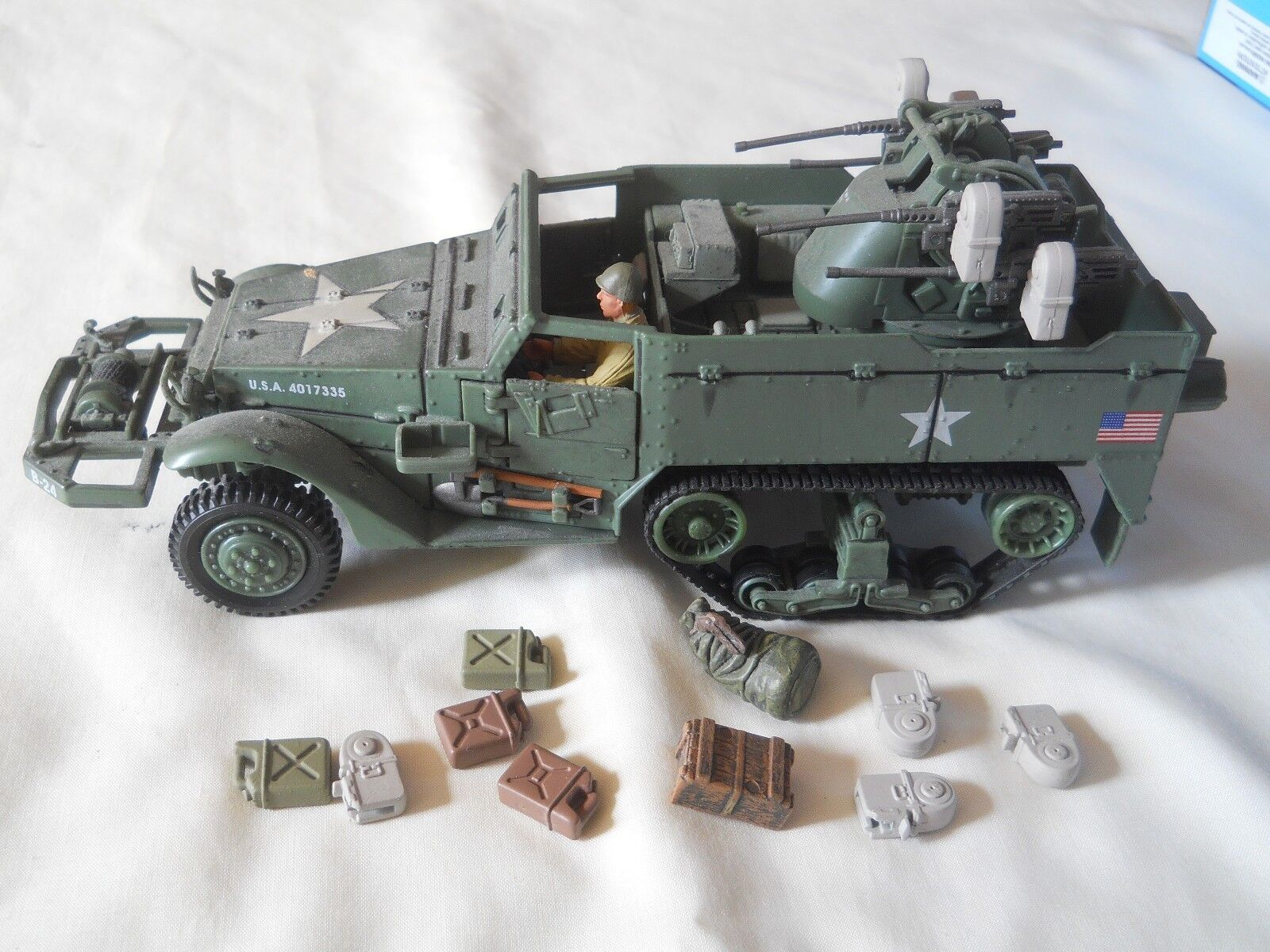 Forces Of Valor 1 32 Multiple Gun Motor Carriage