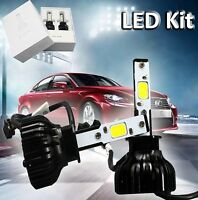 H1 52w High Power Hid Xenon Led Headlight Conversion Kit White Replacement Bulbs