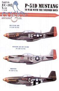 Eagle Cal 48103 - North American P-51D Mustang 357th FG Pt