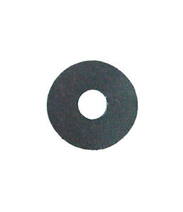 50pc Silicon Rubber Insulator DO-5 Circle φ25.4xφ6.5x0.3mm D2xD1xT RoHS Taiwan