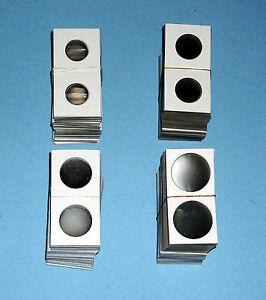 500 Cardboard 1.5x1.5 Coin Holder Mylar Flips for Nickels 1 1//2 x 1 1//2