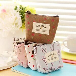 Credit-Card-Pouch-Flower-Floral-Money-Holder-Handbag-Coin-Bag-Zip-Purse-Wallet