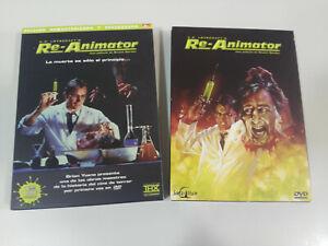Re-Animator-H-P-Lovecraft-s-Edicion-Especial-3-x-DVD-Brian-Yuzna-Espanol-English