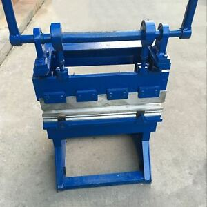 Images For Metal Bending Machine >> Details About 165157 Manual Sheet Metal Bending Folding Machine Bender 600mm