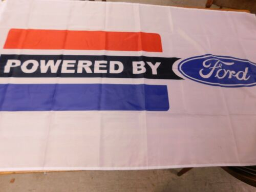 FORD POWERED BY FORD PROMOTIONAL DEALERSHIP PROMO BANNER GT40 MUSTANG SHELBY GT