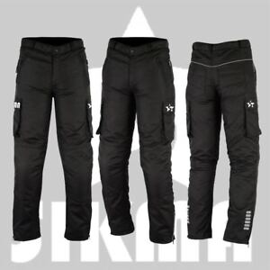 Men-039-s-Motorbike-Cordura-Waterproof-CE-Armours-trousers-Pants-Motorcycle-Bottom