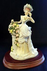 VTG 1992 Leonardo Lady Constance Figurine 20cm Tall | FREE Delivery UK*
