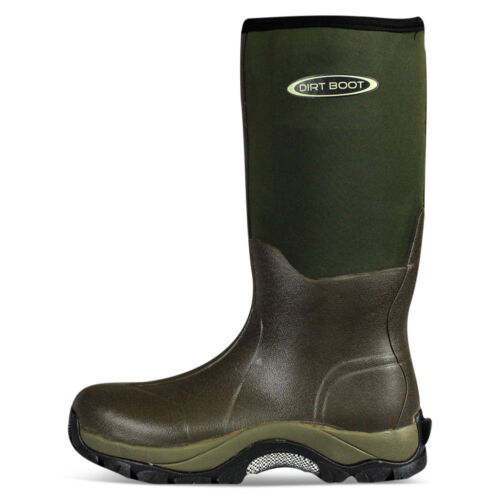 Boot 10mm Neoprene Pro sport Verde Wellington Boot Dirt Muck Winter 7Y5qSUSw
