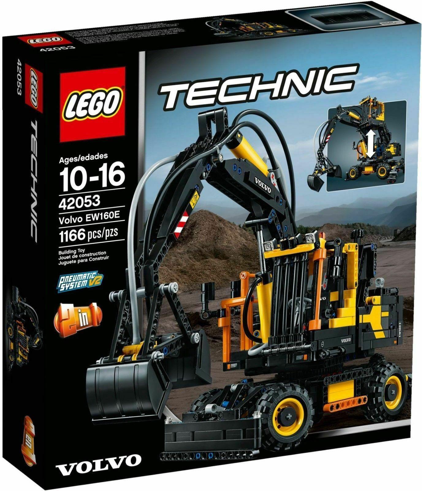 Lego Technic 42053 Volvo Excavator EW160E