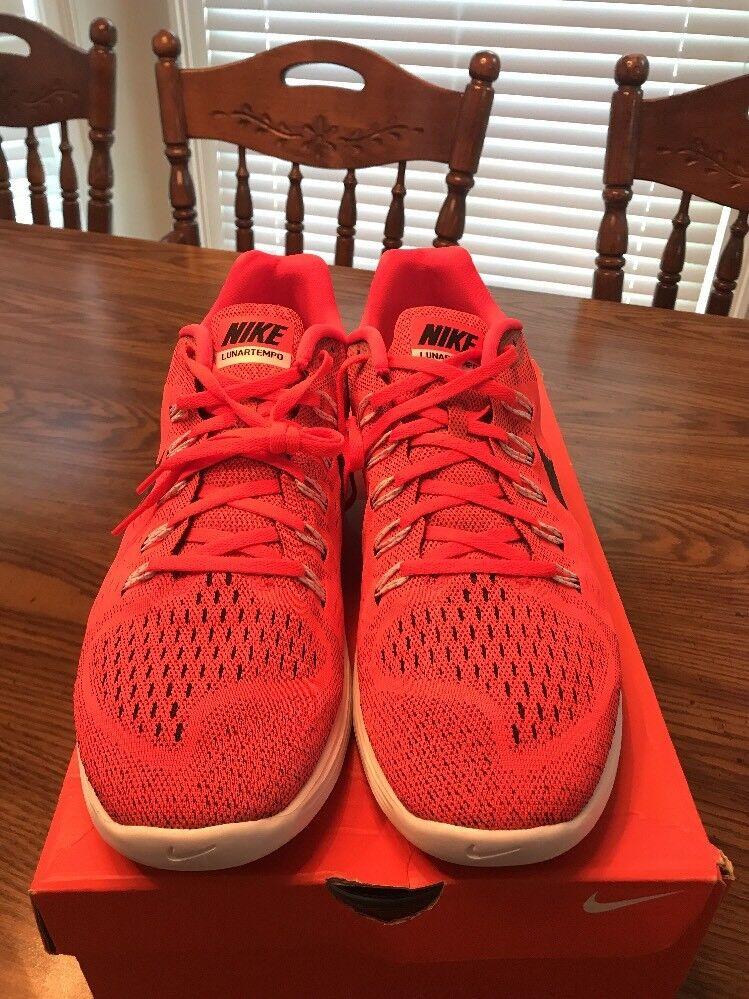 Nike lunartempo correndo 705461-600 uomini scarpe taglia 14 pennino