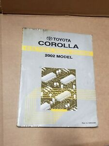 2002 Toyota Corolla Shop Service Electrical Wiring Diagram Manual | eBayeBay