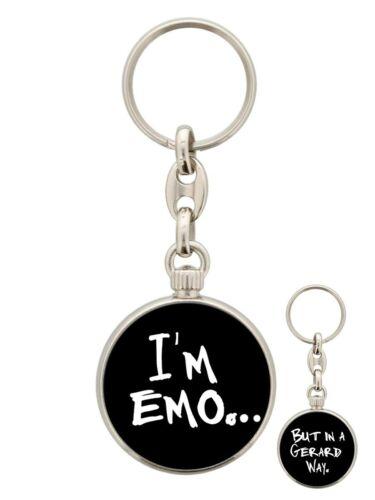 Schlüsselanhänger kreisförmig I/'m Emo But In A Gerard Way 3,5 x 3,5 cm