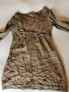 Beautiful White Stuff summer linen dress size 14