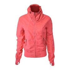 Bench Women's Pink Red Militaristic Zip-Up Jacket