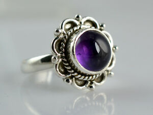 Amethyst-Silver-Ring-925-Solid-Sterling-Silver-Handmade-Jewelry-for-Women