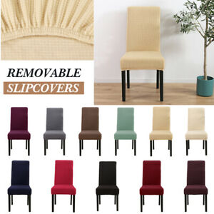 Uk Dining Chair Covers Knit Stretch