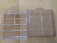 NEW Plastic 8 Bar Soap Mold - Makes 8 bars