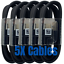 miniature 2 - 5Pack USB C Cable 4ft Fast Charger Lot For Samsung S8 S9 S10 Android Type C Cord