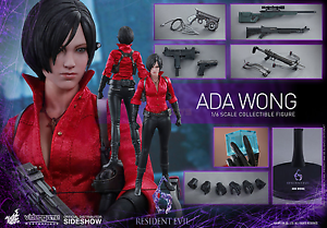 Resident Evil 6 Ada Wong 1 6 Action Figure 12  Hot Toys Sideshow vgm21