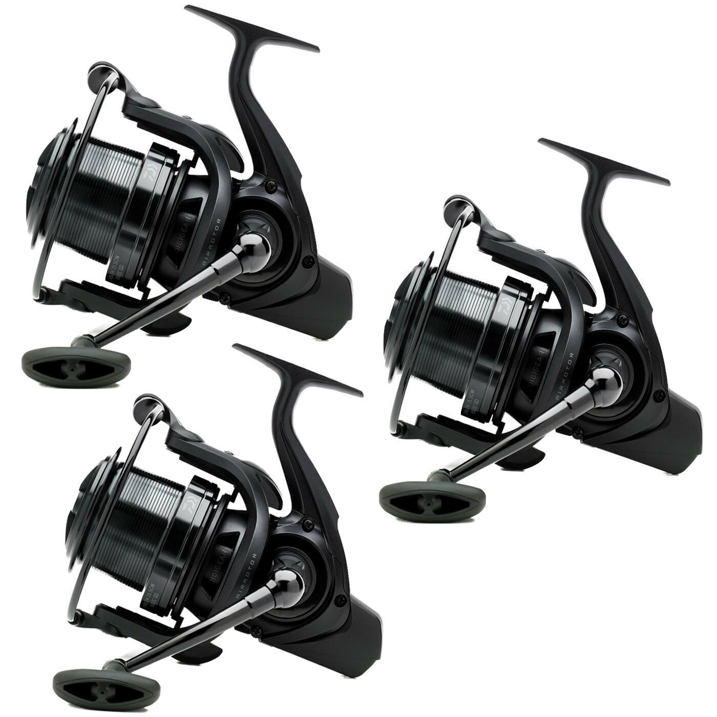 Daiwa 18 Emblem 35 SCW 5000C QD Big Pit Reel -Set of 3- New 2018- Free Delivery