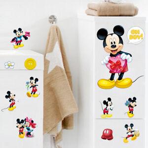 Micky Maus Wandtattoo Kinderzimmer Aufkleber Wandsticker Mickey ...