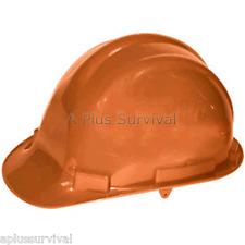 Orange Hard Hat With 4 Point Ratchet Lightweight Ansi Certified Osha Compliant