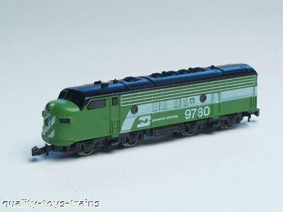 8863 Marklin Z-scale  Burlington Northern EMD F7-A Diesel Loco