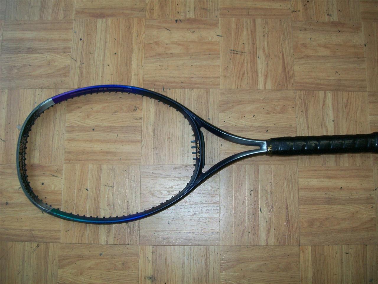 Yonex Super RQ 500 largo Midplus 105 cabeza 4 3 8 Grip Tenis Raqueta
