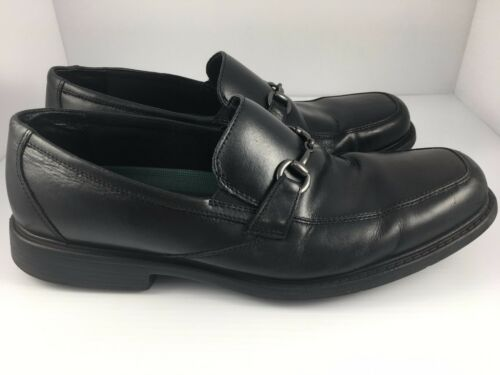 lederen M Clarks laureaat schoenen slip 13 op zwarte instappers rCBoxedW