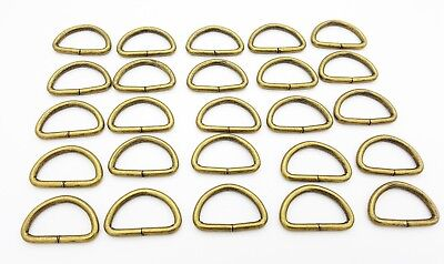 32mm Rectangle Metal D Ring Dee Ring Buckles Leather Hand Bag Craft Belt Sewing