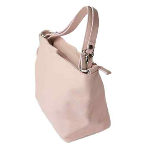 Luxury Bucket Leather Pink Italian Lorella Handbag Handbags Ladies qFSqUw