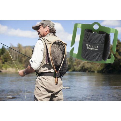 SMITH CREEK NET HOLSTER 3 Colors! Fly Fishing Belt Mount Landing Net Holder