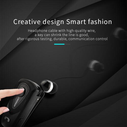 FineBlue F930 Wireless Bluetooth Headset Business Earphone Earbuds Vibrate Clip