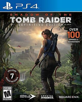 Shadow Of The Tomb Raider Definitive Edition Playstation 4 2019