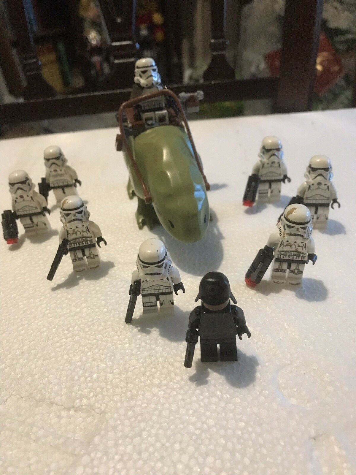 LEGO STAR WARS PATROL DEWBACK SANDTROOPERS STORMTROOPERS OFFICERS TATOOINE CREW