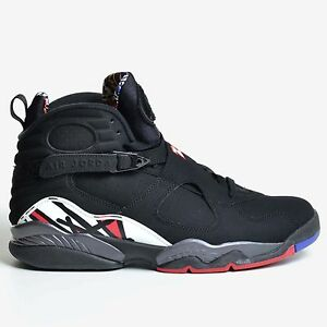 8d48e1692d7dac Air Jordan 8 Retro Black Red 2013 Playoff White Concord VIII DS ...