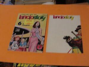 1977 Lancio Story Comic Book Italy Varieta Free Insert Art Poster Lot57 Bronze Age (1970-83)