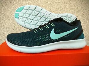 Details zu Nike Free RN Damen Laufschuhe Sneaker Gr.37,5 Schwarz Mint Petrol (831509 003)