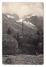 Mt Sir Donald Glacier - British Columbia Photo Postcard c1910 Canada