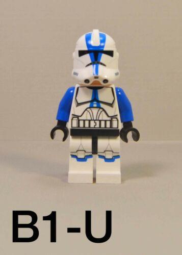 LEGO Star Wars 501st Legion Clone Trooper Minifigure 75002 75004 w// Blaster