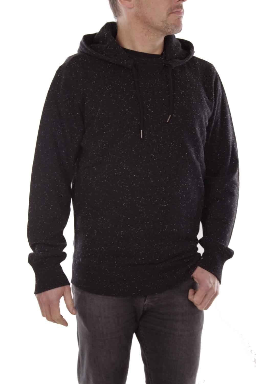 DIESEL Felpa prototipi Felpa da uomo nera hoodie