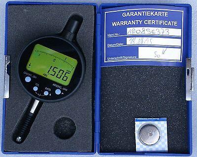Digital-und-Analog-Meßuhr - Auflösung 1/1000mm - Hub 13 mm -  NEU OVP