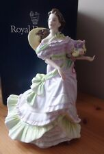 ROYAL DOULTON FIGURINE - HN3478 - SUMMERTIME - BOXED - 1993 - EX - FOUR SEASONS