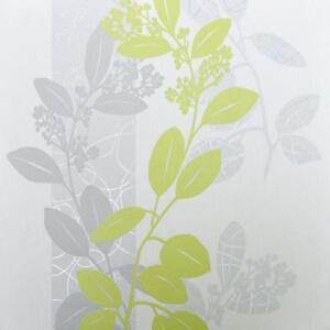 Vlies Tapete Ps 13235 30 Floral Blumen Ranken Streifen Grun Grau