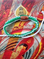 HOLY BUDDHA SACRED GOOD LUCK AND PROTECTION BRACELET AMULETS BLESSED BY MONK (J)